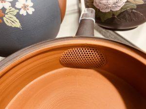 ささめ茶漉し付き急須は大きめの茶葉のお茶に適しています